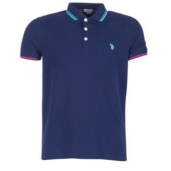 Textil Muži Polo s krátkými rukávy U.S Polo Assn. BARNEY Tmavě modrá