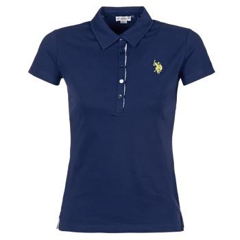 Textil Ženy Polo s krátkými rukávy U.S Polo Assn. LOGO Tmavě modrá