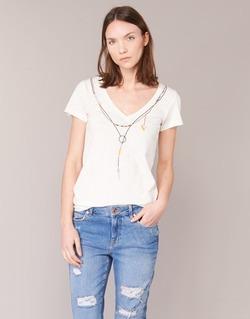 Textil Ženy Trička s krátkým rukávem Oxbow TWIN Bílá