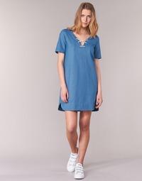 Textil Ženy Krátké šaty Loreak Mendian TXANGAI Modrá