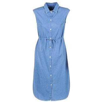 Textil Ženy Společenské šaty Loreak Mendian BAT ARKANSAS Modrá