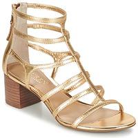 Boty Ženy Sandály Ralph Lauren MADGE SANDALS DRESS Zlatá
