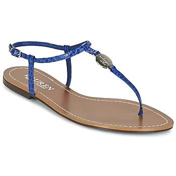 Boty Ženy Žabky Ralph Lauren AIMON SANDALS CASUAL Modrá