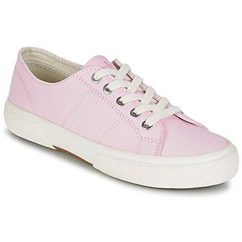 Boty Ženy Nízké tenisky Ralph Lauren JOLIE SNEAKERS VULC Růžová