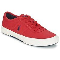 Boty Muži Nízké tenisky Ralph Lauren TYRIAN Červená