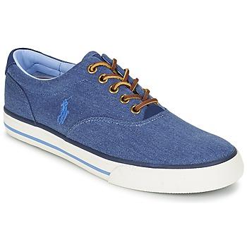 Boty Muži Nízké tenisky Polo Ralph Lauren VAUGHN Modrá