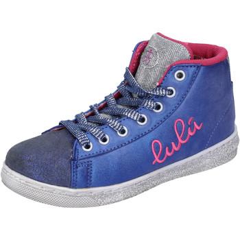 Boty Dívčí Kotníkové tenisky Lulu AH227 Modrá