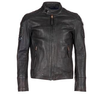 Textil Muži Kožené bundy / imitace kůže Redskins HAMILTON Černá