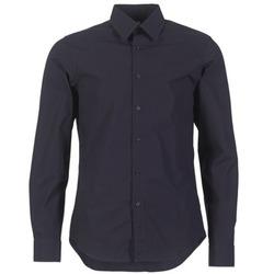 Textil Muži Košile s dlouhymi rukávy G-Star Raw CORE SHIRT Tmavě modrá