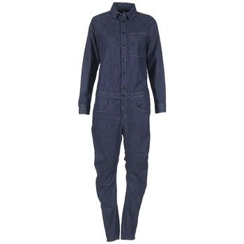 Textil Ženy Overaly / Kalhoty s laclem G-Star Raw STALT 3D Modrá