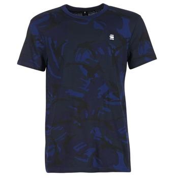 Textil Muži Trička s krátkým rukávem G-Star Raw HOYN Tmavě modrá / Modrá