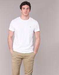 Textil Muži Trička s krátkým rukávem Gant THE ORIGINAL T-SHIRT Bílá