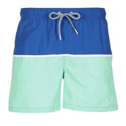 Textil Muži Plavky / Kraťasy Gant CUT & SEWN SWIM SHORT Zelená / Tmavě modrá