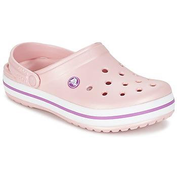 Crocs Pantofle CROCBAND - Růžová
