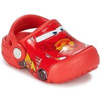 Boty Chlapecké Pantofle Crocs Crocs Funlab Light CARS 3 Movie Clog Červená