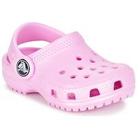 Boty Dívčí Pantofle Crocs Classic Clog Kids Růžová