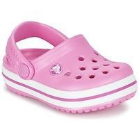 Boty Děti Pantofle Crocs Crocband Clog Kids Růžová