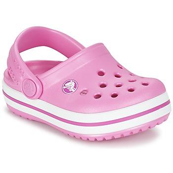 Boty Dívčí Pantofle Crocs Crocband Clog Kids Růžová