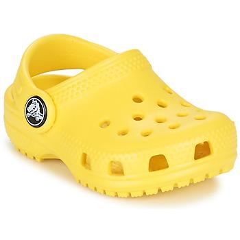 Boty Děti Pantofle Crocs Classic Clog Kids Žlutá