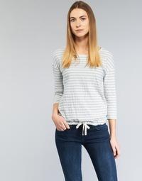 Textil Ženy Halenky / Blůzy Marc O'Polo GRASSIRCO Bílá / Modrá