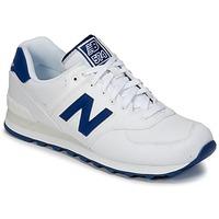 Boty Nízké tenisky New Balance ML574 Bílá / Modrá