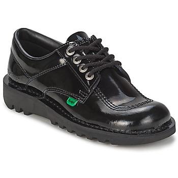 Boty Ženy Šněrovací společenská obuv Kickers KICK LO Černá