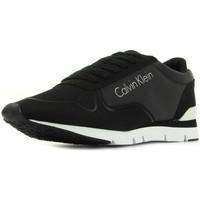 Boty Ženy Nízké tenisky Calvin Klein Jeans Tori Reflex Nylon Microfibre Černá