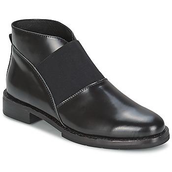 Boty Ženy Polokozačky F-Troupe Chelsea Boot Černá