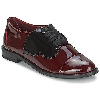 Boty Ženy Šněrovací polobotky  F-Troupe Butterfly Shoe Vínově červená