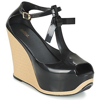 Boty Ženy Sandály Melissa PEACE VI Černá / Béžová