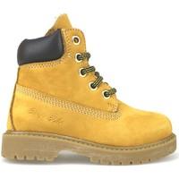 Boty Dívčí Kotníkové boty Didiblu Kotníkové Boty AJ956 Žlutá