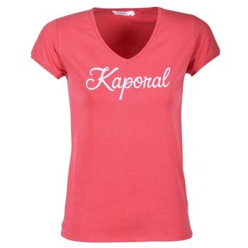 Textil Ženy Trička s krátkým rukávem Kaporal NIAM Růžová