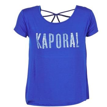 Textil Ženy Trička s krátkým rukávem Kaporal NIZA Modrá