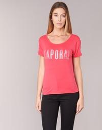 Textil Ženy Trička s krátkým rukávem Kaporal NIZA Růžová