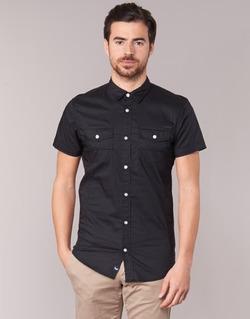 Textil Muži Košile s krátkými rukávy Kaporal RAC Černá