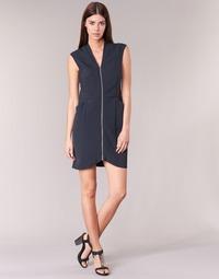 Textil Ženy Krátké šaty DDP DISTOULA Tmavě modrá