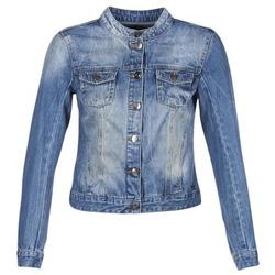 Textil Ženy Riflové bundy DDP DASTIONA Modrá