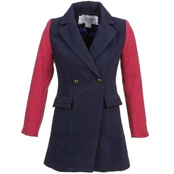Textil Ženy Kabáty Kling VERMEER Tmavě modrá