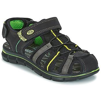 Boty Chlapecké Sandály Primigi TEVEZ Černá / Zelená
