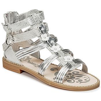 Boty Dívčí Sandály Primigi FANTAYS Stříbřitá