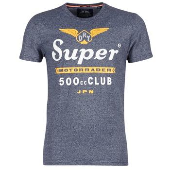 Textil Muži Trička s krátkým rukávem Superdry 500 CLUB MOTORRADER Šedá