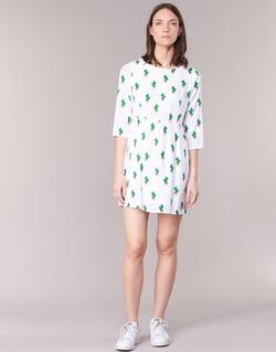 Textil Ženy Krátké šaty Compania Fantastica ECACTUSSA Bílá