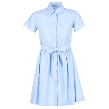 Textil Ženy Krátké šaty Compania Fantastica EBLEUETE Modrá / Nebeská modř