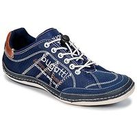 Boty Muži Nízké tenisky Bugatti LAMETE Tmavě modrá
