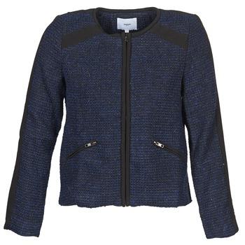 Textil Ženy Saka / Blejzry Suncoo DANAELLE Modrá