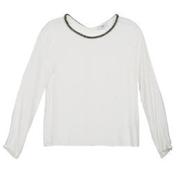 Textil Ženy Halenky / Blůzy Suncoo LUCIA Krémově bílá