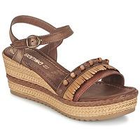 Boty Ženy Sandály Samoa MOLAY Hnědá