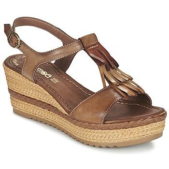 Boty Ženy Sandály Samoa DREDU Hnědá