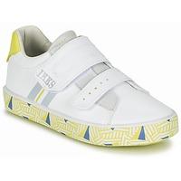 Boty Chlapecké Nízké tenisky Ikks JOE Bílá / Žlutá
