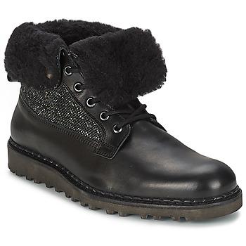Nobrand Kotníkové boty STREET - Černá